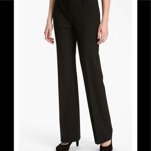 NWT Halogen Taylor Fit Curvy Black Pants SZ 10